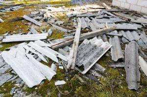 Asbestos building materials