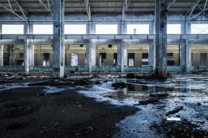 asbestos riddled workplace